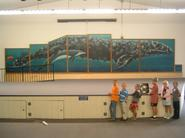 Wyland's Whaling Wall at Concordia in 2008